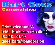 Bart Gees Carnavalshop